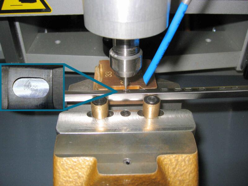 Beschriftung Gravur Lasermarkierung Nadelsystem Kennzeichnung