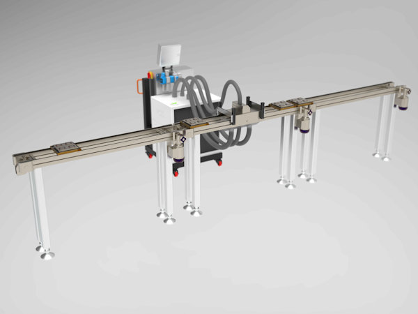 Particle Cleaning Industrial Solution PCIS Modul Darstellung gerendert