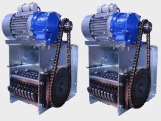 Cruncher PET AL-Gebinde Recycling Schredder Baugruppe Serienprodukt