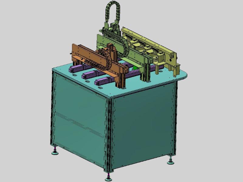 Engineering Vergussanlage ungerendert CAD-Zeichnung Entwurf Vorlage Konzept Entwicklung Konstruktion Darstellung