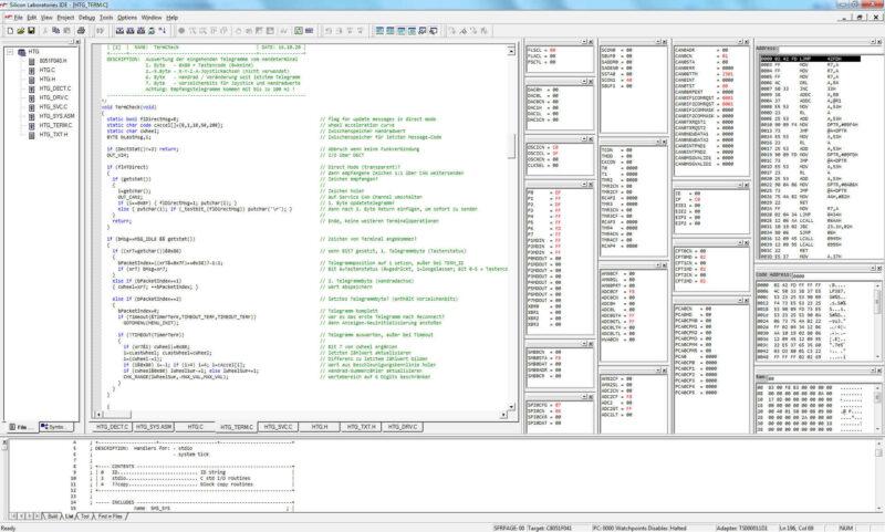 Mikrocontroller Programmierung Steuerungselement Digital und Analog
