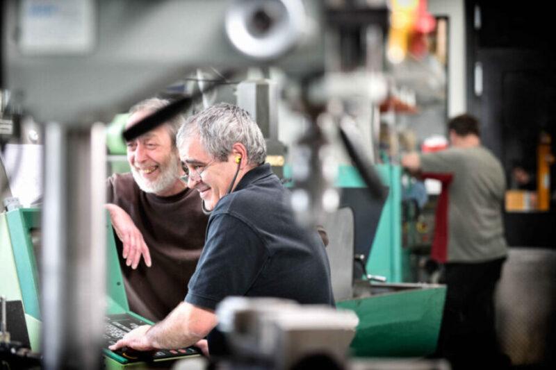 Mitarbeiter k-tech Fertigung Anlagen Maschinen Team
