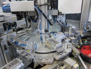 Montageanlage Pharma Zuführtechnik Fertigungsstraße Modul Fertigung und Montage Anfülltechnik