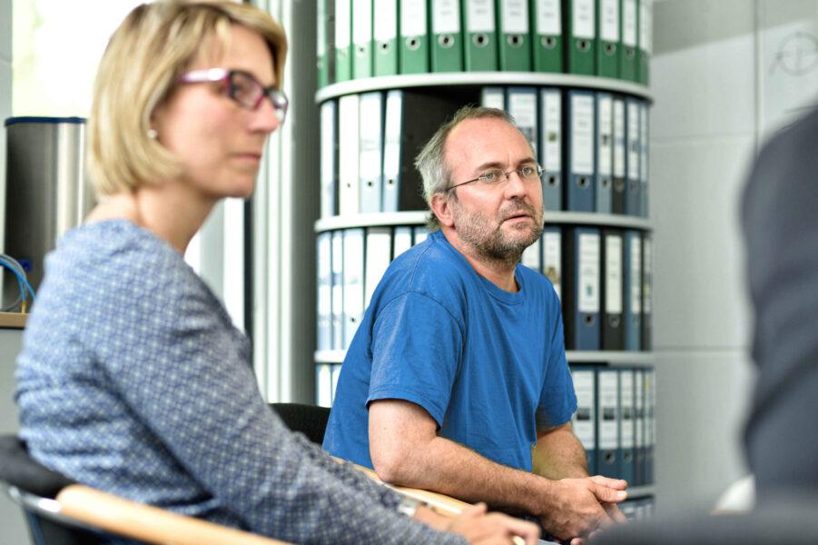 Besprechung Projekt Mitarbeiter