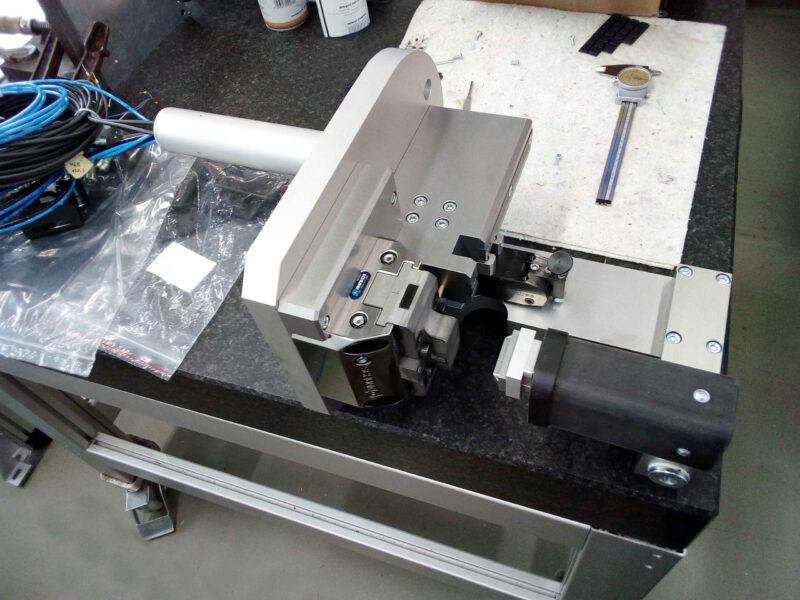 Machbarkeit Spannvorrichtung Fräsmaschine Test Fertigung