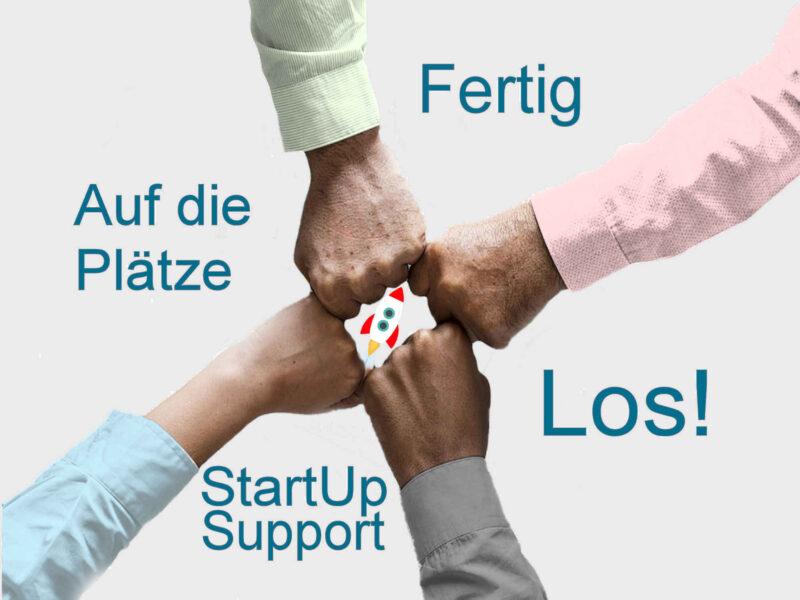 StartUp Support Unterstützung Neugründung Entwicklung Hilfe Start-Up