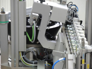 Universal Zuführung Vibrationstöpfe Werkzeug Produktionsablauf Fertigung Roboter