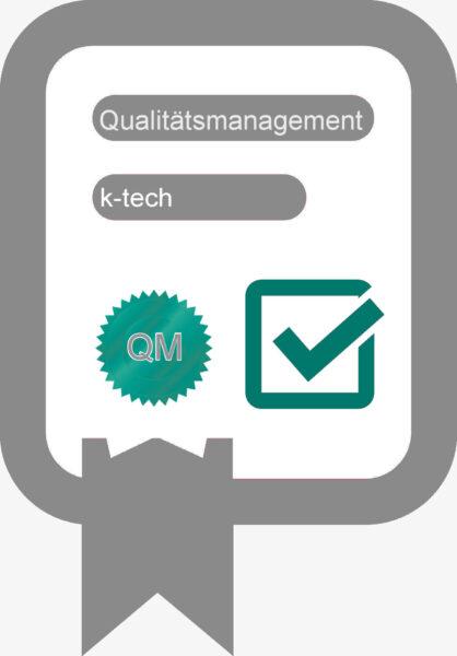 QM Qualitätsmanagement k-tech
