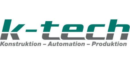 Logo als Banner k-tech Sondermaschinenbauer Konstanz Bodensee